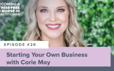 Ep #26: Starting Your Own Business with Corie May